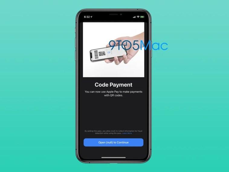 La segunda beta de iOS 14 deja ver que Apple Pay incorporará pagos a través de códigos QR