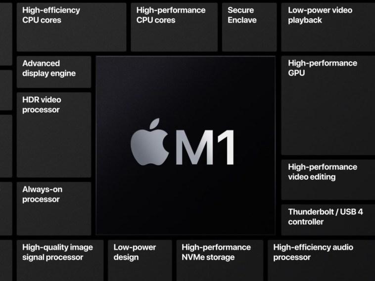 El MacBook Air con chip M1 supera a todos los modelos Pro de 16 pulgadas en benchmark