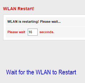Restart WLAN for PLDT Change wifi name