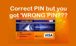 Correct but Wrong Pin Unionbank of the Philippines