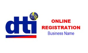 DTI Online Registration of Business Name