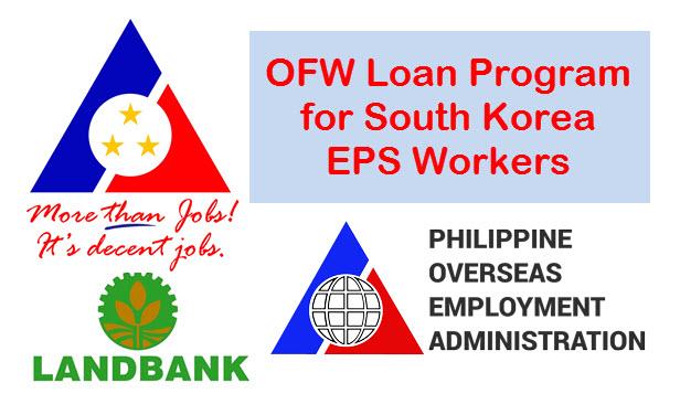 OFW Loan South Korea via Landbank POEA DOLE Program