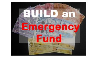 Build an Emergency Fund - Instill the Habit of Savings