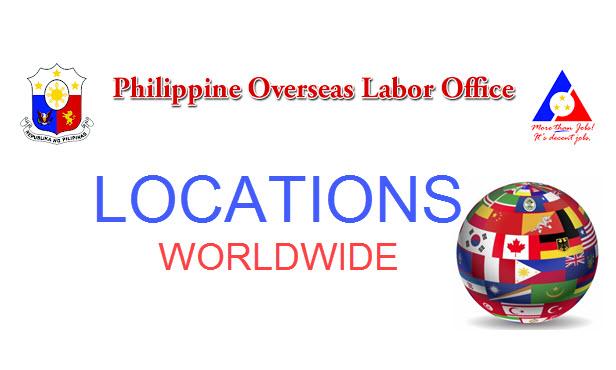 POLO Office Location – Philippine Overseas Labor Office Addresses