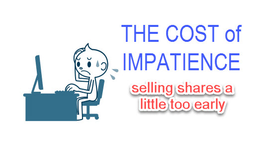THE COST of IMPATIENCE in Stock Market Investing – Lessons for the New Investors