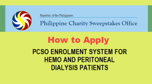 Apply PCSO Dialysis Assistance