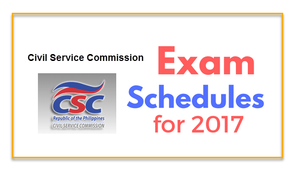civil-service-exam-schedule-2017