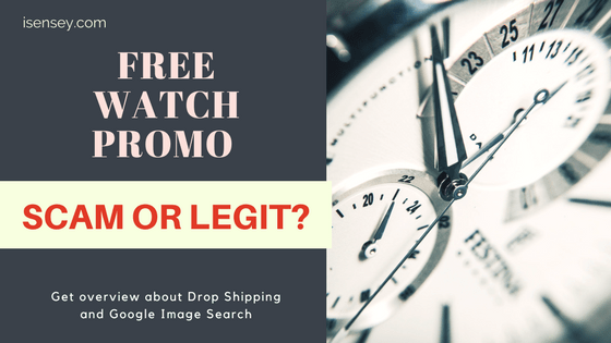 Free watch promo scam or legit
