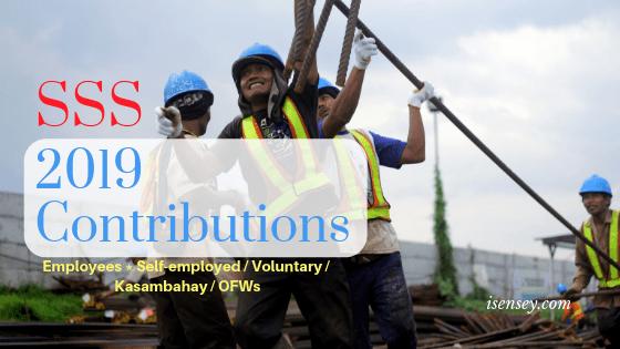 nEW sss contribution 2019