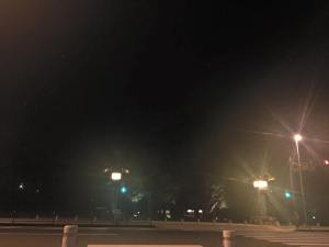 夜の伊勢神宮外宮