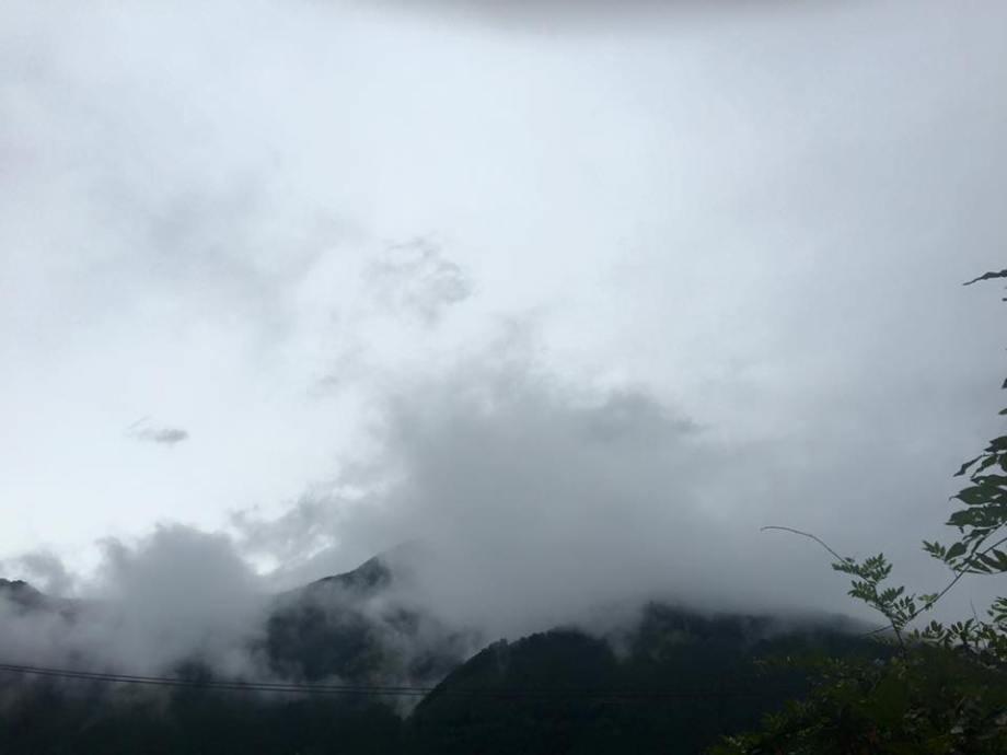 雨の熊野古道
