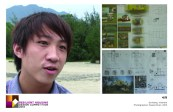 Le Hai An, a young architect of Hue Urban Planning Institute, describes how his designs employ stilts to withstand high flood waters, and protect household assets.