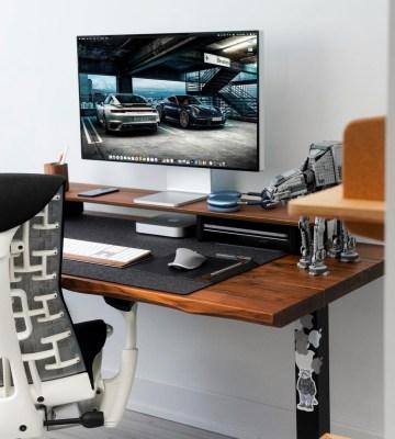desk mat for setup