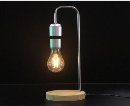 Floating Light Bulb with Wireless Charger
