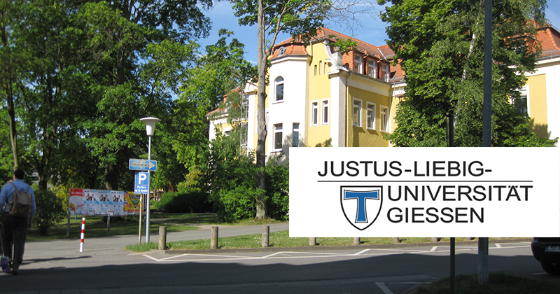 Justus Liebig University Giessen in Germany, 2017