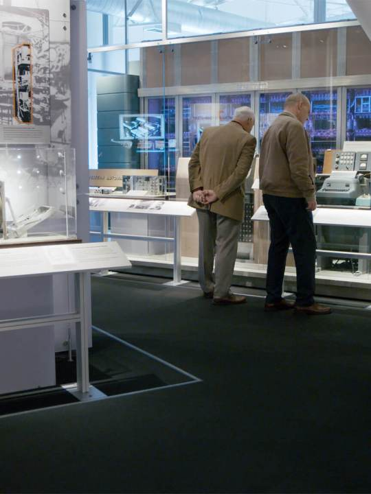 inside the computer history museum with Del Tackett