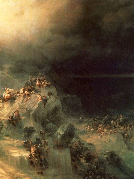 The Deluge by Ivan Aivazovsky