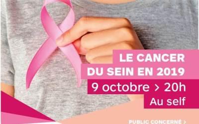 Retour sur la soirée formation sur le cancer du sein en 2019