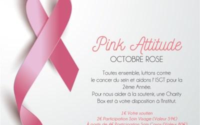 """APPEL AUX DONS – L'ISGT & Le Centre de beauté """"LE COEUR DES SENS"""" à Fronton – Octobre Rose"""