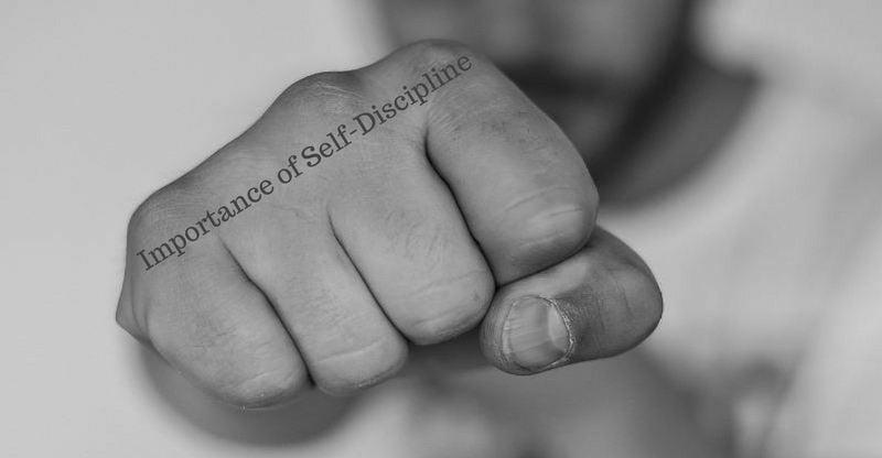 importance of self-discipline
