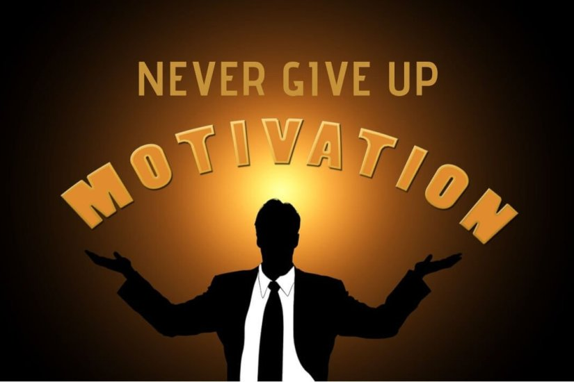 never give up motivation
