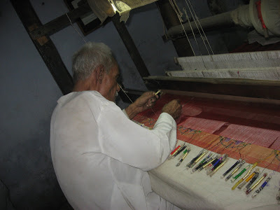Paithani sarees weaving