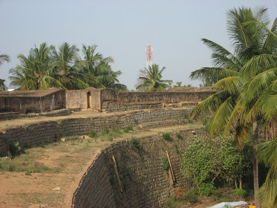 Devanahalli Fort Huge walls