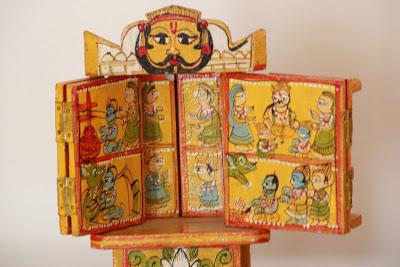 kavad. souvenir from Rajasthan