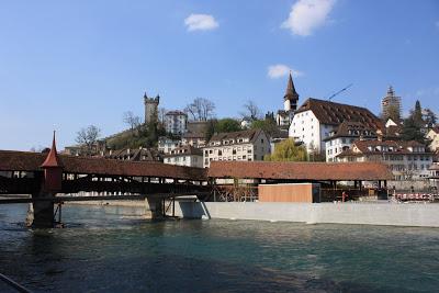 Spreuerbrucke Bridge in Lucerne