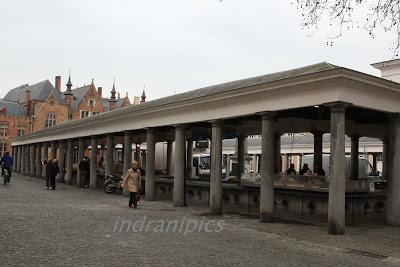 Fish market of Brugges