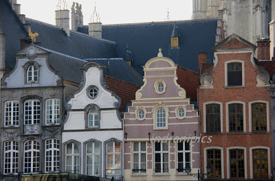 Flemish townhouses Mechelen Belgium