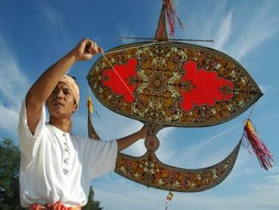 Traditional Malaysian Kites