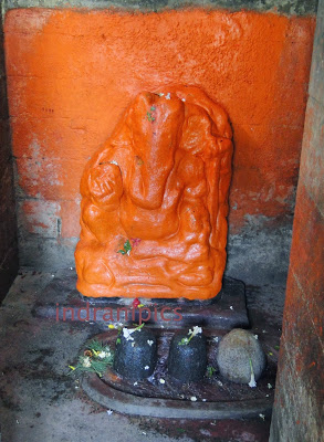 Lord Ganesha at Begunia Temples of Barakar