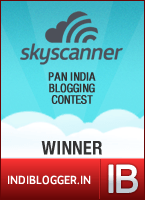 Travel Smart With Skyscanner IndiBlogger Contest Winner