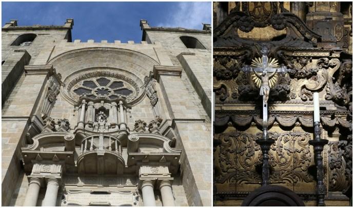 Porto Cathedral Facade