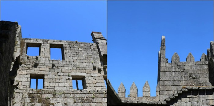 ruins of castle of guimaraes