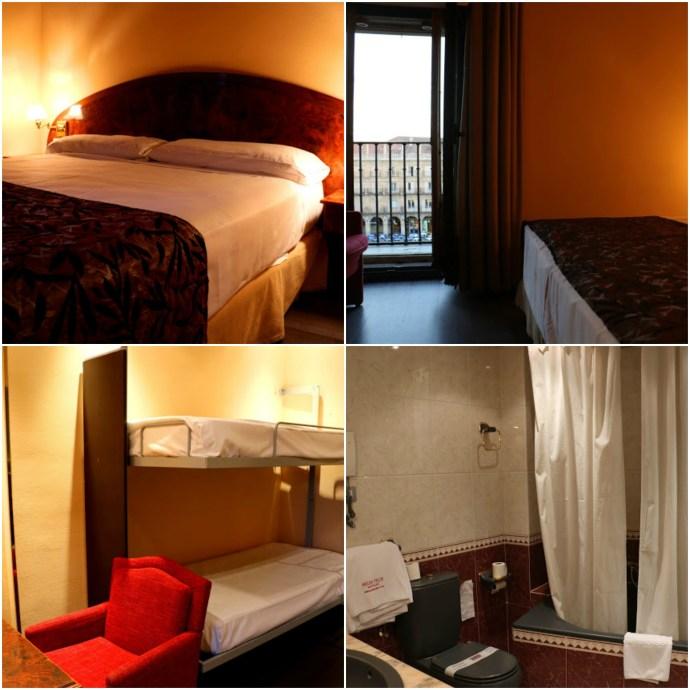 Hotel Las Torres Salamanca Room indranipics