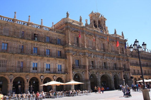 Plaza Mayor Salamanca town hall
