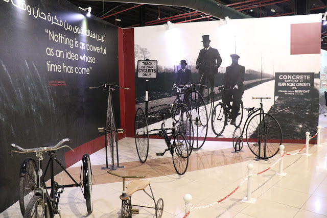 Bicyles in Classic Cars Museum Sharjah