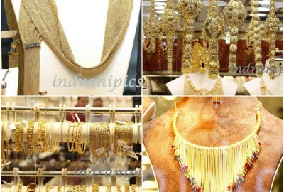 Gold Jewelry in Central Souq Sharjah