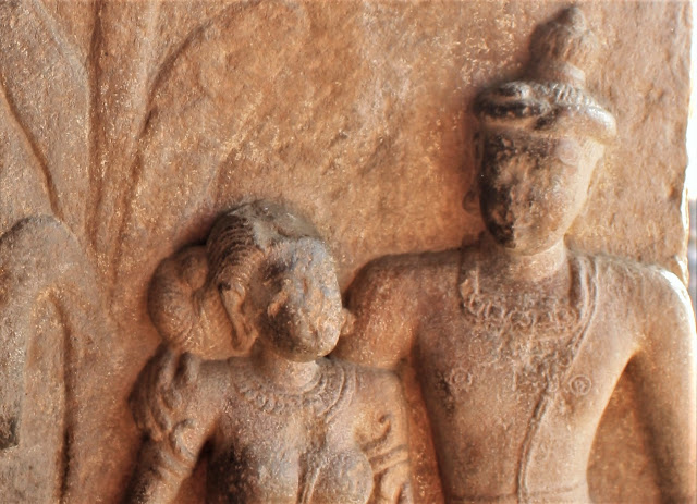Hairstyles in Ancient Indian Sculptures from Patadakal