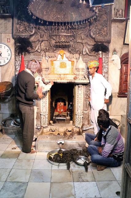 Inner Sanctum Karni Mata Temple