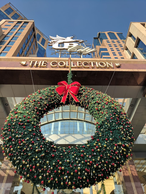 UB City Christmas decorations