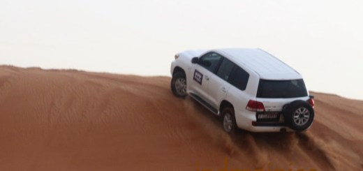 Mleiha Desert Safari Land Cruiser