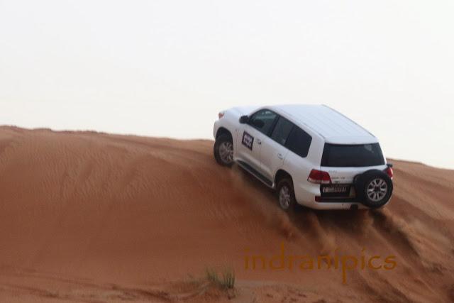 Mleiha Desert Safari Land Cruiser
