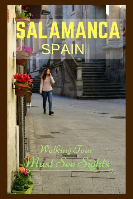 Walking Tour of Salamanca Spain