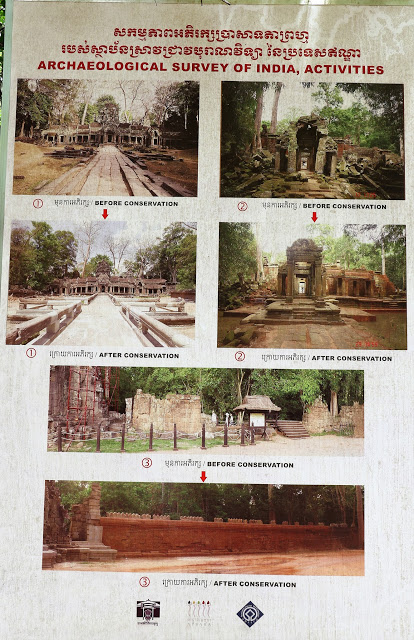 Ta Prohm Conservation and Restoration by ASI