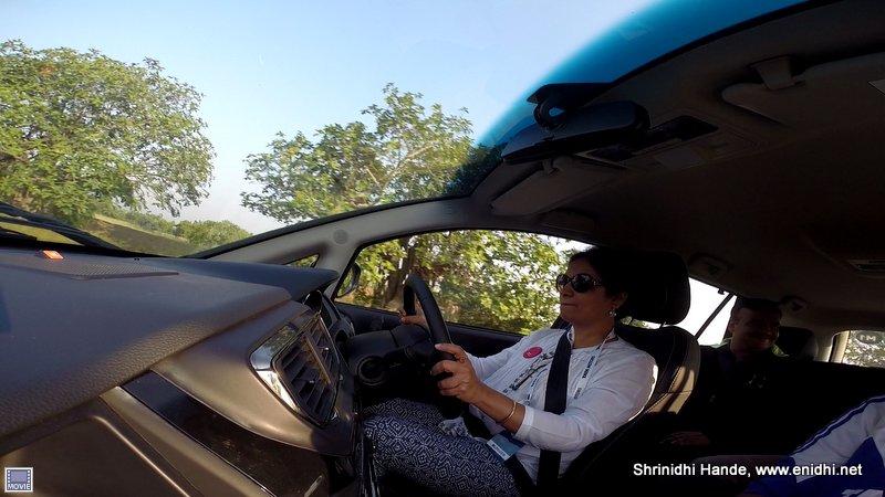 Tata Hexa Drive Mode Experience