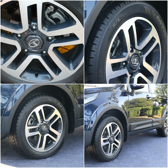 Tata Hexa Wheels