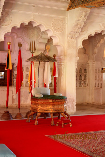 throne-in-meherangarh-fort